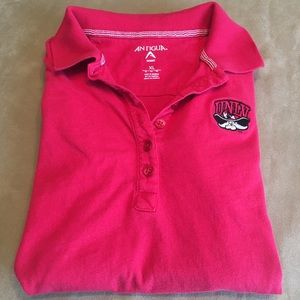 Antigua UNLV red polo